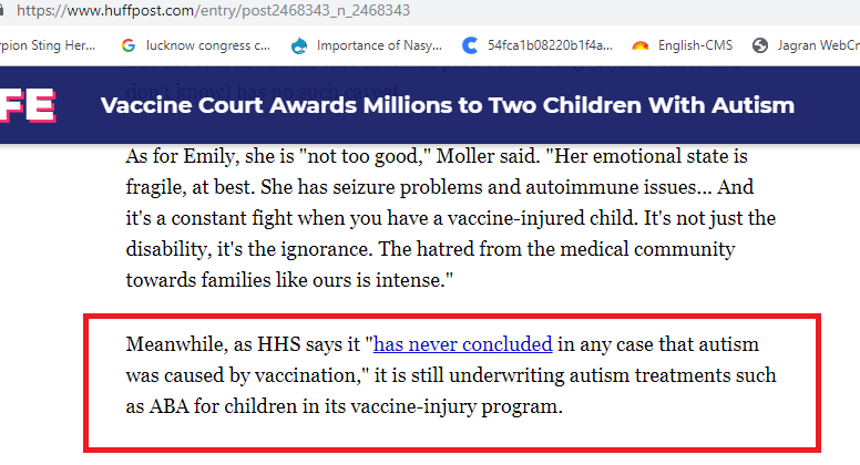 Fact Check: No, courts haven't quietly confirmed MMR vaccine causes