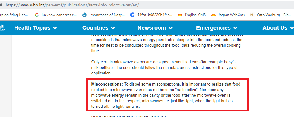 Fact Check: No, Microwave ovens are not banned in Japan